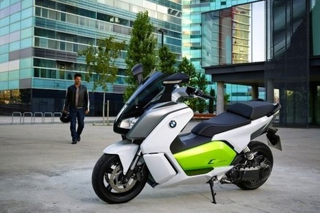BMW will start selling C Evolution electric-scooter in Europe next year | Scooters and Vespas | Scoop.it