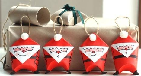 Paso a paso: Bola de Navidad con forma de Papá Noel | Con tus propias manos - Lola | Scoop.it