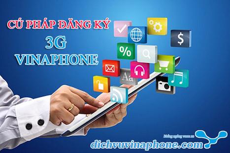 Cú pháp tin nhắn đăng ký 3G Vinaphone | Tổng hợp | Scoop.it