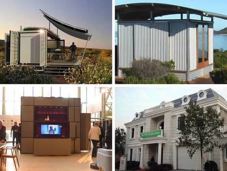 The top 10 shipping container, prefab and modular homes of 2015 | Living Little | Scoop.it