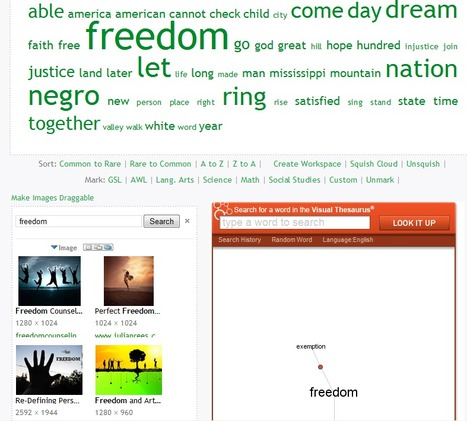 WordSift - Visualize Text | LIVING HISTORY | Scoop.it