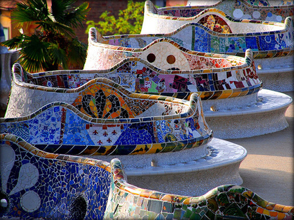 Antoni Gaudi: Guell Park | Art Installations, Sculpture, Contemporary Art | Scoop.it