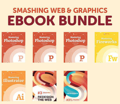 Deal of the Week: Smashing Web & Graphics eBook Bundle: 7 eBooks for only $18! | Ebooks Collection | Scoop.it