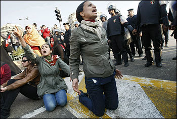 Mona Eltahawy - Will Egypt's protests go the way of Tunisia's revolution?   Coveting Freedom   Scoop.it