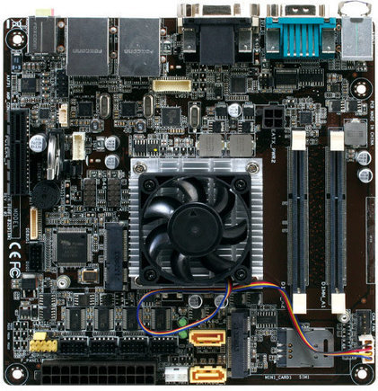 AAEON EMB-KB1 AMD G-Series SoC based mini-ITX Embedded Motherboard | Embedded Software | Scoop.it