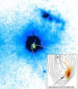 Powerful jets discovered blowing material out of galaxy | JOIN SCOOP.IT AND FOLLOW ME ON SCOOP.IT | Scoop.it