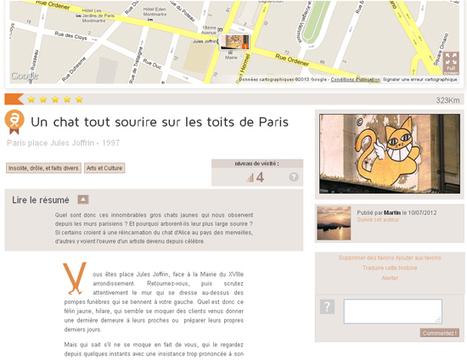 Upon a map, laissons-nous conter l'histoire « etourisme.info | Geoloc | Scoop.it