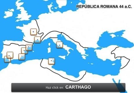 CCL: MARCHANDO UNA DE MAPAS DE ROMA... | Enseñar Geografía e Historia en Secundaria | Scoop.it