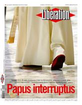 Papus Interruptus : suite à l'annonce de la démission du pape, Libération titre et publie son édito en latin ! | Mundo Clásico | Scoop.it