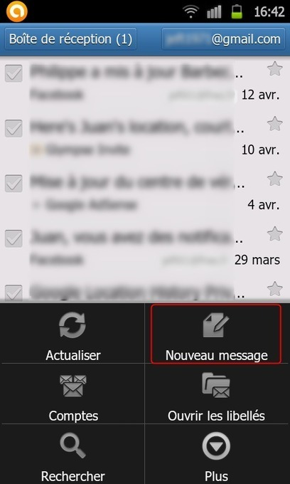 Envoyer & recevoir des Emails de son compte Orange sur son Android sans souscrire l'option Mail à 6 Euros | Time to Learn | Scoop.it