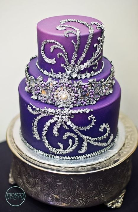 Purple Wedding Ideas with Pretty Details | Fashion Wedding Trends | Press Release from dressmebridal.co.uk | Scoop.it