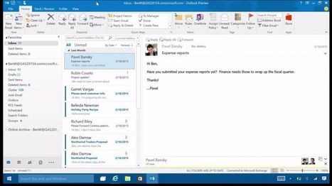 Here's how Outlook 2016 looks on Windows 10 | Cloud Central | Scoop.it