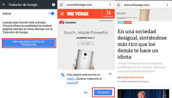 ¿Sabes usar el traductor en Chrome para Android? | The World of Indigenous Languages | Scoop.it