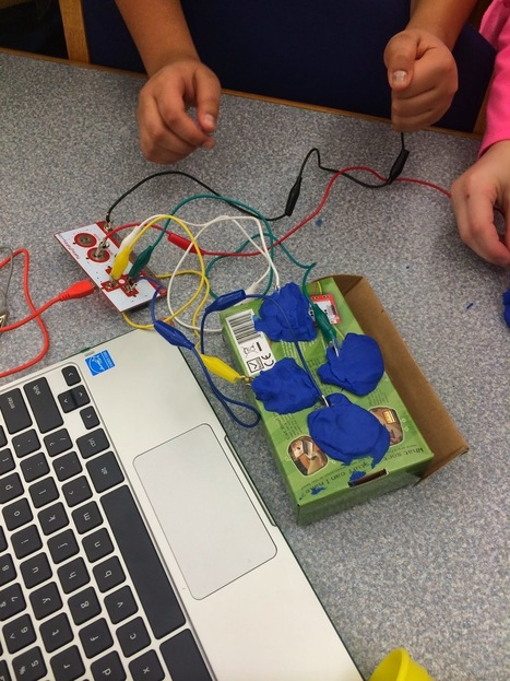 You Might Be a Geeky Teacher if You Introduce Makey Makey to Your Students | School Library Advocacy | Scoop.it