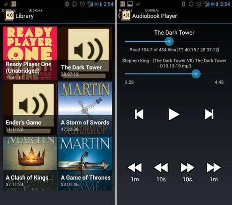 Las mejores aplicaciones para escuchar audiolibros   SERENDIP   Scoop.it