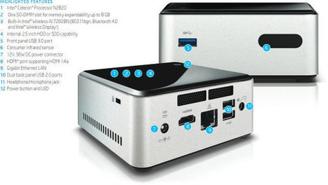 """Intel """"Bay Trail"""" NUC (Next Unit of Computing) mini PC is Now Available for $140 