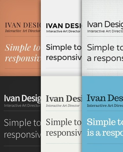 Type & Grids: Free Responsive HTML5 Template | Smashing Magazine | Design | Scoop.it
