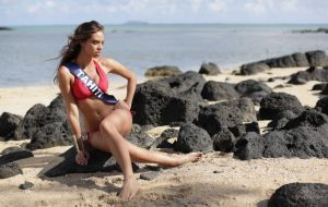 "Miss Tahiti : ""Je peux être très possessive"" 