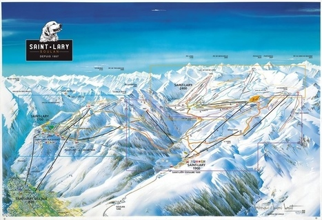 Saint-Lary Soulan ski resort, French Pyrenees, France from Erna Low | SAINT LARY | Scoop.it