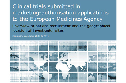 EU, North America fall behind as clinical trial locations for EMA-submitted medicines - PMLiVE | Klinisch Onderzoek | Scoop.it