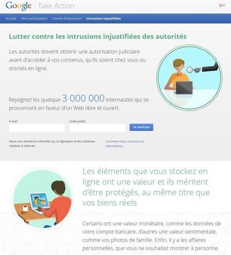 Défendre la vie privée tout en la combattant, une subtilité Google | Antisocial, tu perds ton sang-froid... | Scoop.it