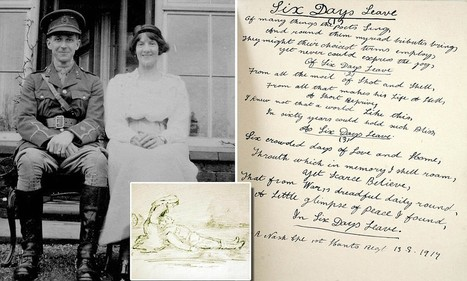 Mabel's War: Diaries of World War One nurse reveal lives of horrifically injured soldiers as she treated them back home | British Genealogy | Scoop.it