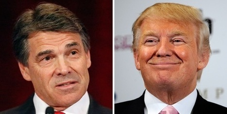 Trump's debate advice to Perry: 'Pretend you're someplace else' | Wandering Salsero | Scoop.it