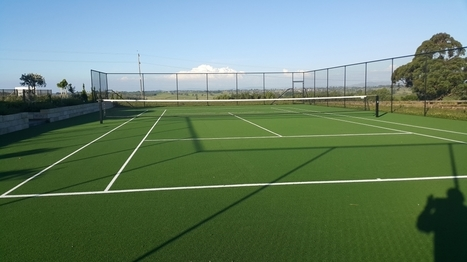 Tennis Courts Turf | Synthetic Grass NZ | Scoop.it