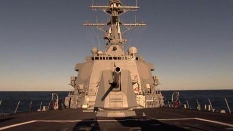 The Four $1.8 Billion Destroyers Around Syria: Video | Economics | Scoop.it