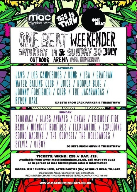 One Beat Weekender | Birmingham Life | Scoop.it