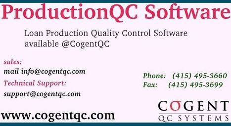 Quality Control | QC Software | Scoop.it