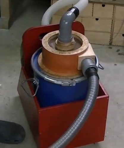 Cosmas' Home-Made Cyclone | Woodworking, CNC, 3D Printing & Construction | Scoop.it