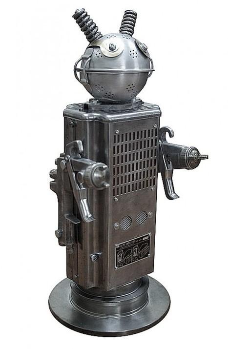 +Brauer : Des robots réalisés avec des objets recyclés | Heron | Scoop.it