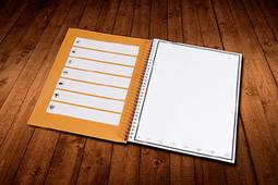 Un cahier réutilisable grâce au four micro-ondes | Courants technos | Scoop.it