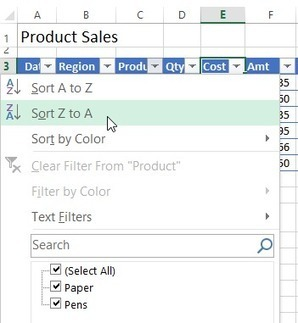 Creating an Excel Table | Techy Stuff | Scoop.it