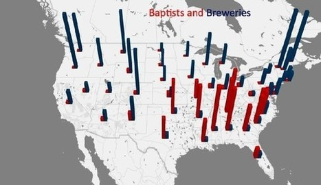The South Is the Region With the Fewest Breweries—Here's Why | INTRODUCTION TO THE SOCIAL SCIENCES DIGITAL TEXTBOOK(PSYCHOLOGY-ECONOMICS-SOCIOLOGY):MIKE BUSARELLO | Scoop.it