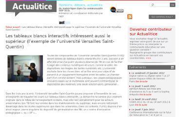 Actualitice | Enseignement Supérieur et Recherche en France | Scoop.it