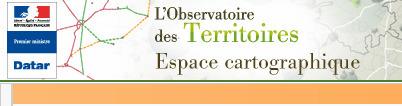 cartographie interactive de l'observatoire des territoires | veille numérique et pédagogique | Scoop.it