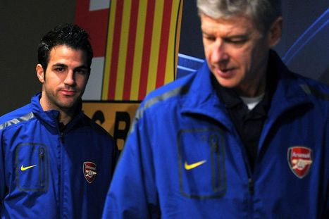 Arsenal eye Cesc Fabregas transfer from Barcelona for second time in his career | Spain World Cup | Scoop.it