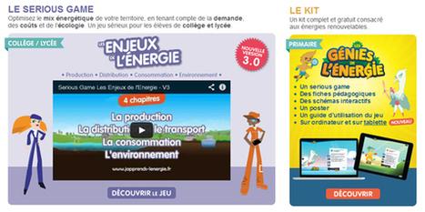 J'apprends l'énergie en classe (ressources,jeux sérieux, visites virtuelles, vidéos…) | | CaféAnimé | Scoop.it