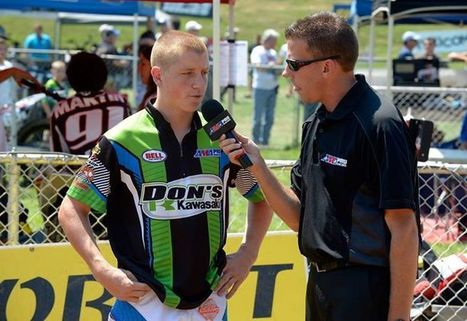 AMA Pro Flat Track's Facebook Wall: At just 17 years old, Jarod Vanderkooi is worth the price of admission! He currently leads the Harley-Davidson GNC1 presented by Vance & Hines Saddlemen Rookie o... | California Flat Track Association (CFTA) | Scoop.it