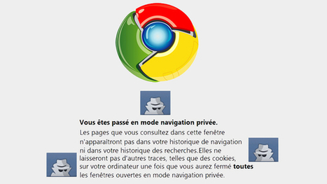 Démarrez automatiquement en mode incognito | MultiAstuces Eric OTHON | Scoop.it
