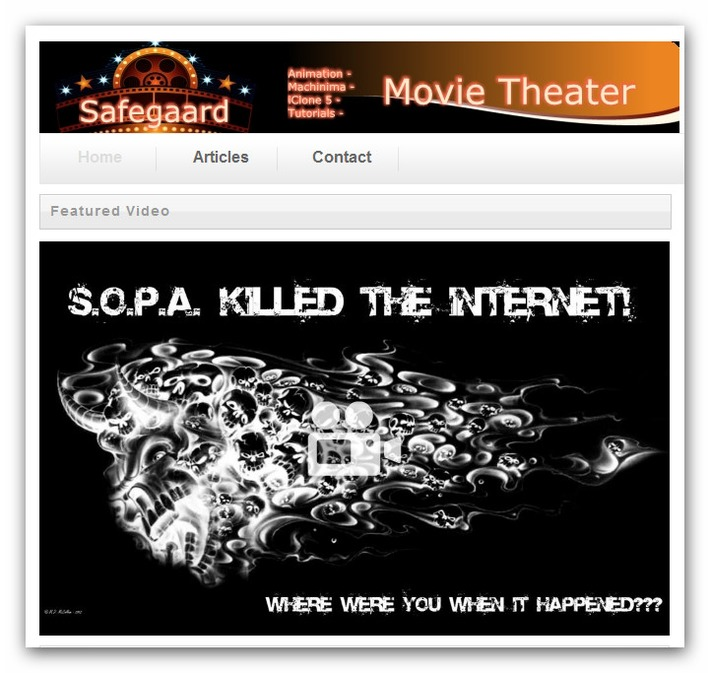 Safegaard – Movie Theater | Machinimania | Scoop.it