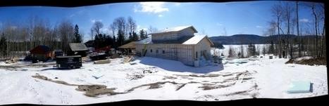 La maison bois Kenogami, un miracle d'efficacité énergétique en climat nordique (Québec) | Conseil construction de maison | Scoop.it