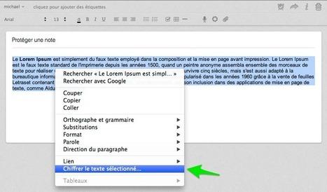 Evernote : protégez vos notes avec un mot de passe » atka-web   Evernote   Scoop.it