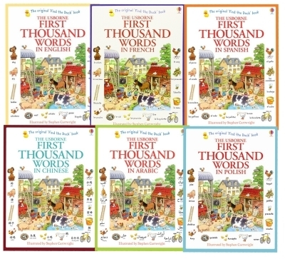 Usborne My First Thousand Words 6 Books Collection Set | Snazal Books, Leicester | Scoop.it