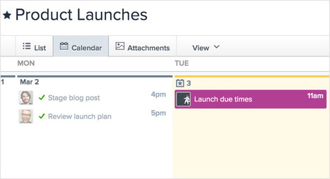 Our 8th feature in 8 weeks: due times - The Asana Blog | Tools You Can Use | Scoop.it