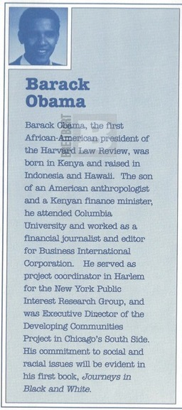 'Read Barry obama's 2007 Book 'Born in Kenya'? in his HS yearbook, thanked drug dealer, father an arab muslim' | News You Can Use - NO PINKSLIME | Scoop.it