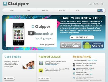 Quipper: Maak op de pc quizzen voor Iphone, Ipad of Android. | Mediawijsheid in het HBO | Scoop.it