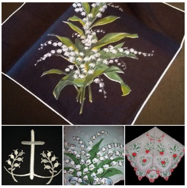 Vintage Lily of the Valley Hankie Handkerchiefs | Antiques & Vintage Collectibles | Scoop.it